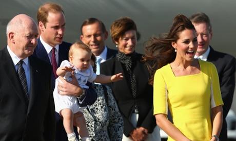 Royal visit Australia