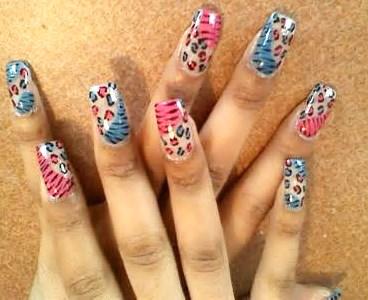 2014 Cheetah Nail Designs