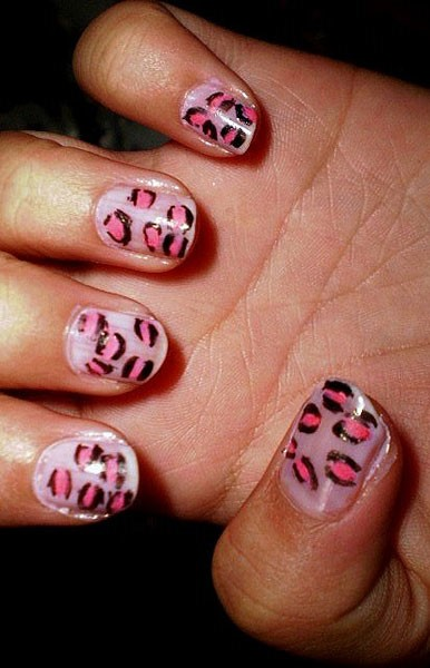 Cheetah Nail Designs Patches