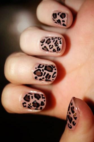 Cheetah Nail Designs Tumblr