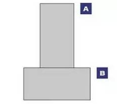 horizontal and vertical rectangles