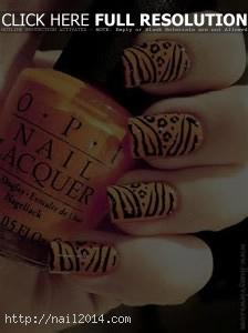 New Pattern Desigs Ideas Print Nail