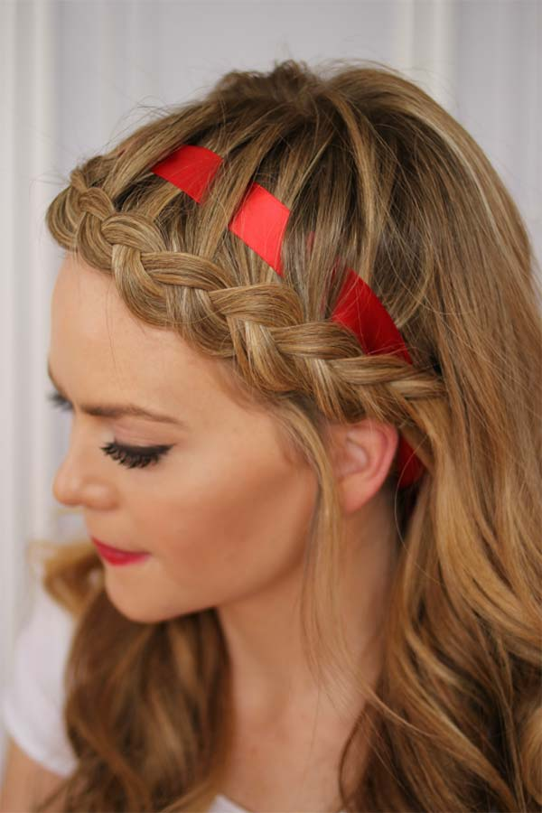 Ways to Wear Ribbon Hairstyles