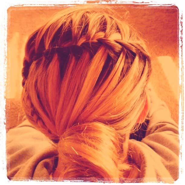 Instagram Waterfall Braided Hairstyles