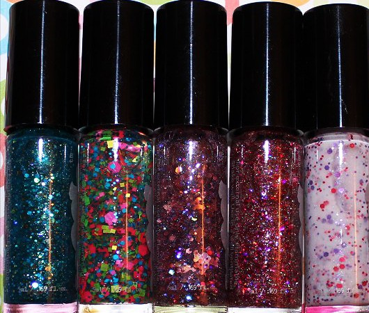 Attractive Rainbow Nail Polish 2015