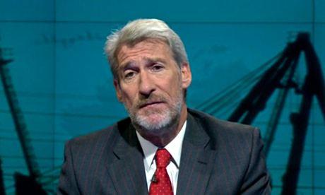 Jeremy Paxman with a beard