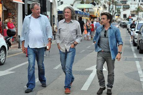 'Top Gear' TV Programme Filming in Puerto Banus, Spain - 04 Jun 2013