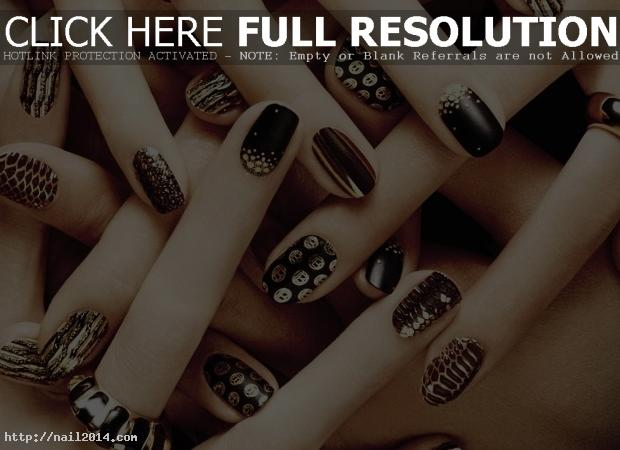 Excellent Nail Art Design Fashionable