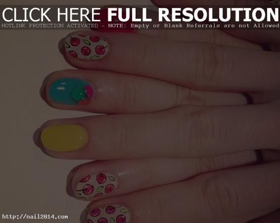 Charming Nail Art Design 2015