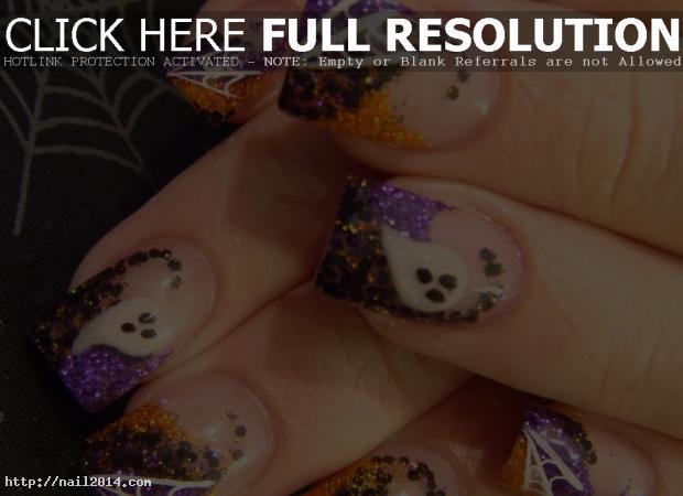 2015 Latest Halloween Nail Designs Ideas
