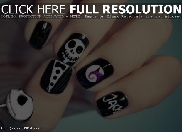 Easy Stylish Halloween Nail Paints Tips
