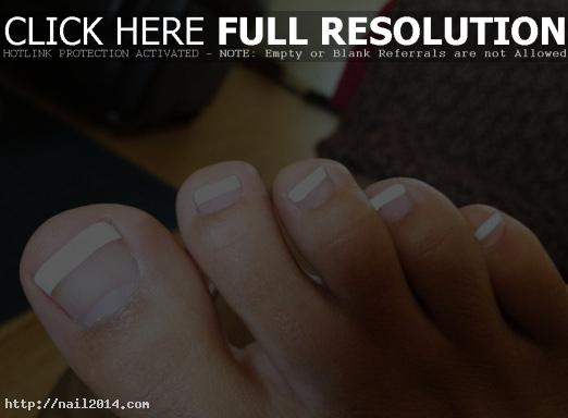 Best Ideas for French Tip Toes