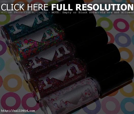 2015 Trendy Stylish Rainbow Nail Polish