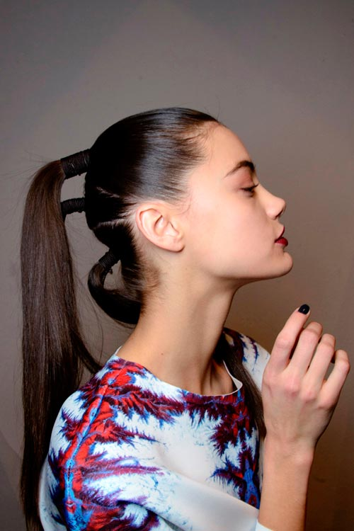 Fall 2014 Cool Ponytail Hairstyles You Need To Try