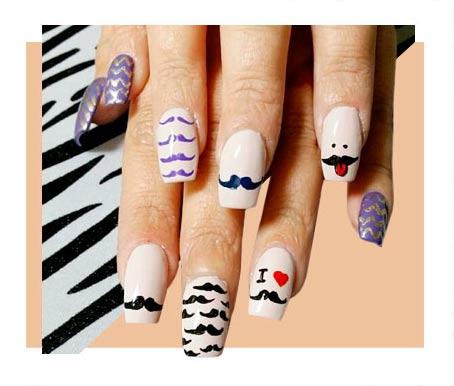 Amazingly Stylish Graphic Nail Designs Fashion Brief