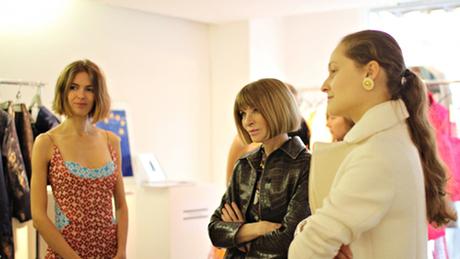 Ukraine fashion: Anna Wintour in Paris
