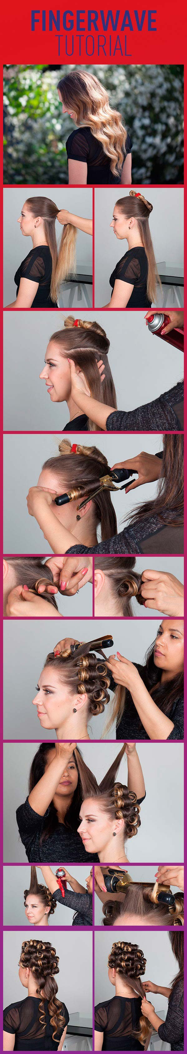 Retro Hair Tutorials From Pinterest