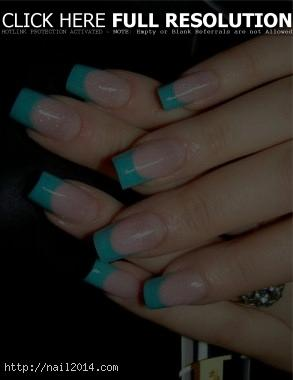 French Tip 2015 Nail Designs Ideas