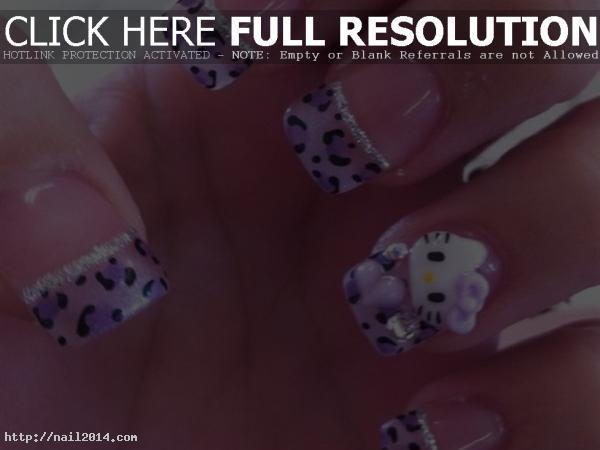 hello kitty nail art designs tutorial
