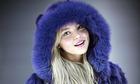 Model Rachel Hilbert of Rochester, New York attends New York Fashion Week