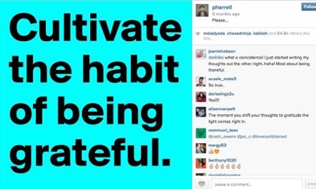 Pharrell Williams on  Instagram
