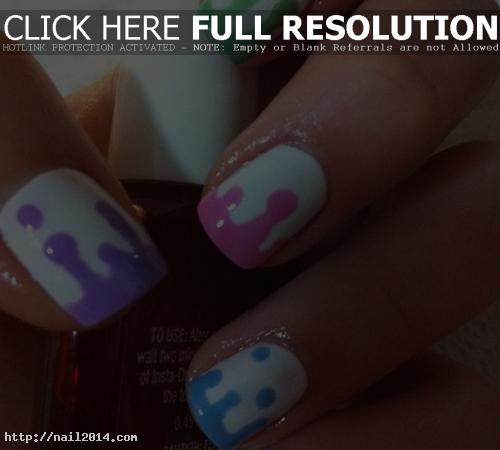simple nail designs for short nails pinterest