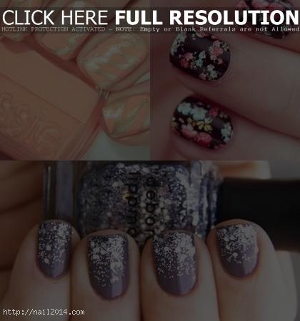 fashion Trendy Most Popular Nail Designs 2015