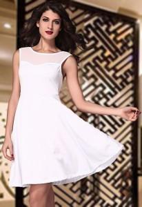White party dress