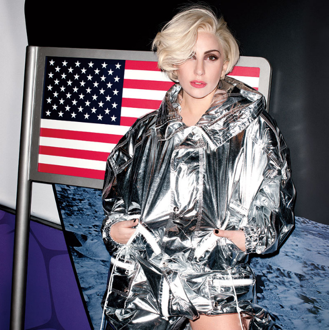 Lady Gaga On the Cover of Harper's Bazaar U.S. March