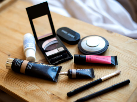 Shae's makeup toolkit
