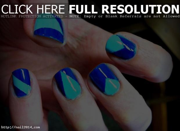 2015 Latest Stunning Easy Tape Nail Ideas