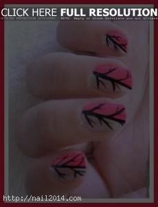 Best Pattern Easy Nail Art Celebrity Nail Designs