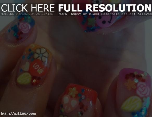 2015 Attractive Nail Designs Tips for Kids