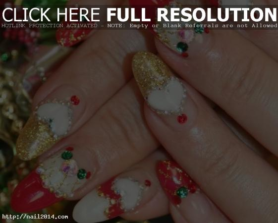 Beautiful christmas nail designs 3