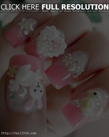 Cute christmas nail art designs 6