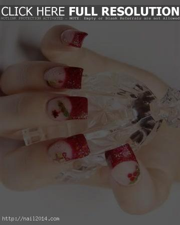 Latest Nail Designs for Christmas2015
