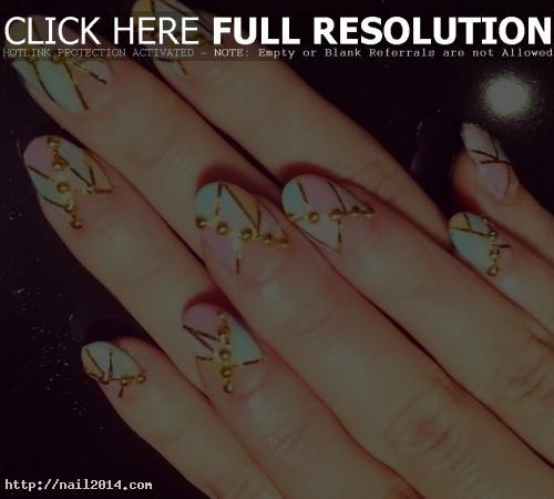 Nail Design Art Texture