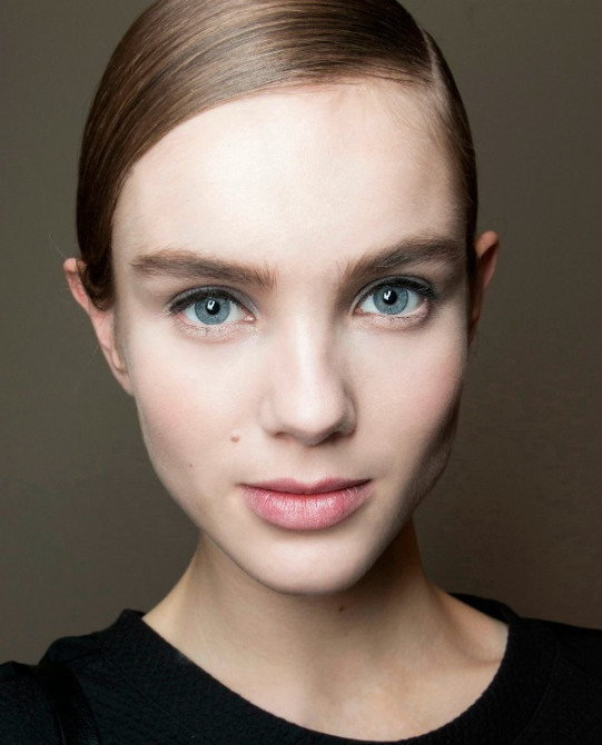 Winter Pale Skin Makeup How to