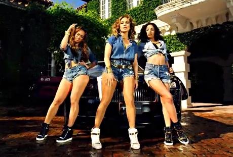 J-Lo in double denim