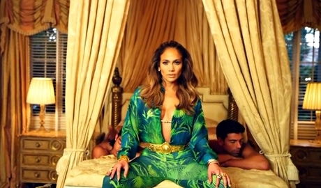 J-Lo revives the Versace look