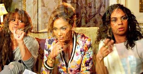 Seague into J-Lo's dream sequence