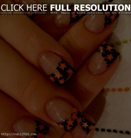Classy Halloween Nail Art Designs Images