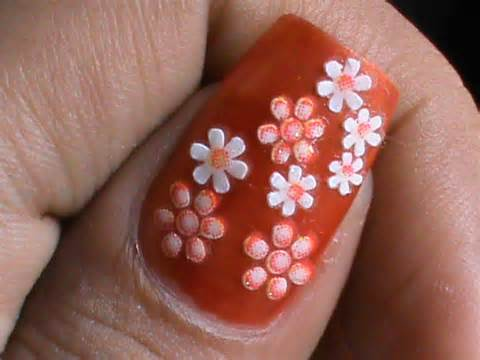 New Pics for Nail Art Design during Home