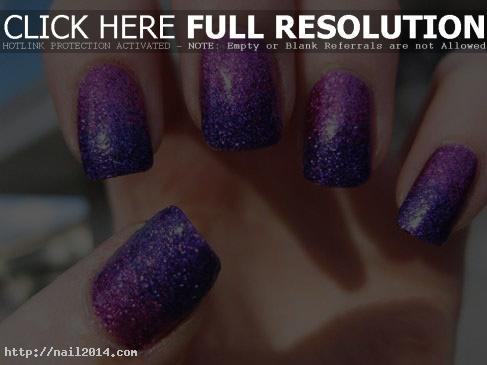 2015 Nice Beautiful Glitter Nail Designs