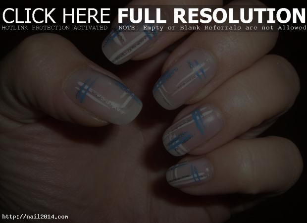 white tip nail art designs