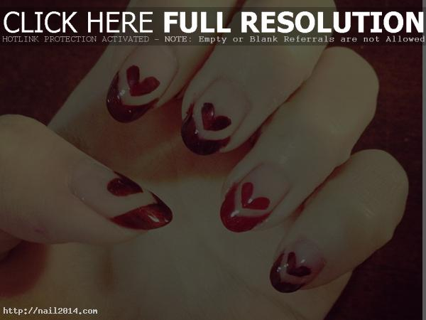 valentines nail art designs pinterest
