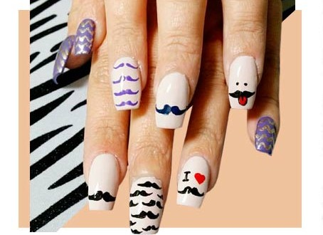 Amazingly stylish graphic nail designs fashion brief prinsesfo Choice Image
